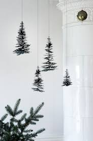 nordic christmas pine cones and graphical spruces in nice 3d diy