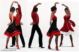 mod the sims mix u0026 match some more flamenco couple poses part 2