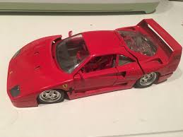 f40 parts amazing 1987 f40 diecast car bburago italy 1 18
