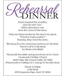 rehearsal dinner invitations templates free cimvitation