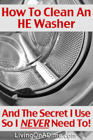 how to clean a front load washer u0026 why i never need to