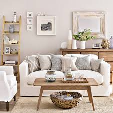 white living room ideas glass oval coffee table cream and white