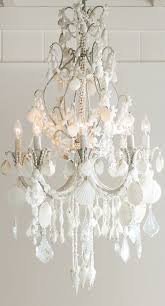 Cascading Chandelier by An Ethereal Symphony Of Cascading Crystals And Seashells Our
