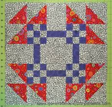 bachelor s puzzle quilt block patterns in 3 sizes