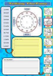 english worksheets daily routine worksheets page 11