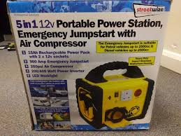 nissan micra jump start portable power pack 5 in 1 900 amps 17ah 240v inverter jump in