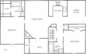 floor plans for 2 bedroom homes house plan awesome floor plan of a 2 bedroom house floor plan for