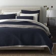 Chambray Duvet Brentwood Cotton Chambray Quilt The Company Store