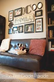 Decorating Behind A Sectional Sofa Which Idea Do You Like Best - Wall decorating ideas for family room