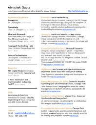 Artistic Resume Template Ux Designer Resume Template Vinodomia