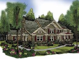 5 bedroom craftsman house plans craftsman house plan with 4405 square and 5 bedrooms from