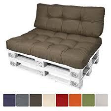 canapé amazon beautissu eco style coussins pour canape palette dossiers