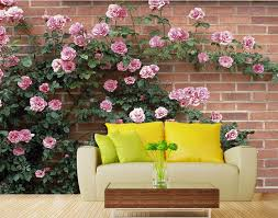 online get cheap leaf wall mural aliexpress com alibaba group 3d wallpaper for room rose wall green leaf background wall mural 3d wallpaper decorative brick wall