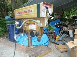 powermatic 15 u201d 1150a drill press infinite adjust speed