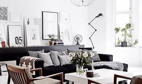 Free White  Great Black And White Chairs Living Room Living Table - Black and white chairs living room