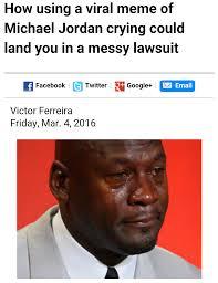 Michael Jordan Crying Meme - i don t think jordan understands how the internet works imgur