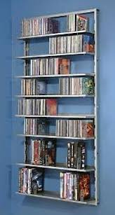 Wall Mounted Dvd Shelves by Wood Dvd Rack Foter