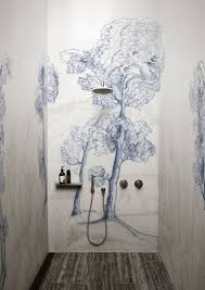 Black And White Wallpaper For Bathrooms - is wallpaper in the bathroom the next big design trend