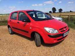 cheap car small engine hyundai getz mot april 2018 manual petrol 1