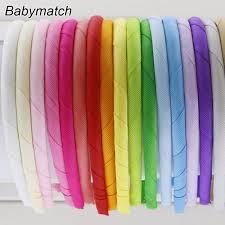plastic ribbon aliexpress buy babymatch 120pcs lot grosgrain ribbon covered
