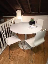 Docksta Table Furniture Ikea White Round Dining Table Tulip Tables Docksta