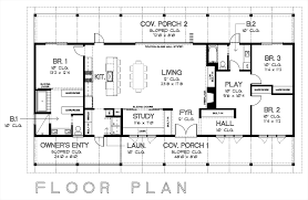 Ranch Style House Plans With Porch 100 Ranch Style Home Floor Plans Ranch Style House Plan 3