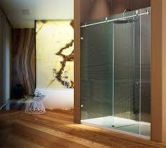 bathroom modern home depot glass sliding shower doors with