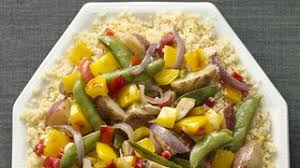 garden vegetables with lemon scented quinoa recipe the chew