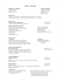 Best Resume Objective Samples by Resumes Cv Templates Quick Resume Template Easy Simple Detail