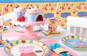 peppa pig birthday supplies peppa pig party supplies birthdayexpress