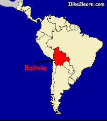 south america map bolivia bolivia map