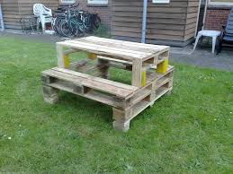 Wooden Pallet Furniture Pallets Picnic Table Pallet Picnic Tables Picnic Tables And Pallets