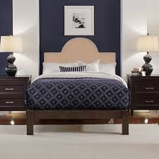 Instant Bed Bedhead Instant Beige Twin King Rounded Headboard Perfect Fit Twin