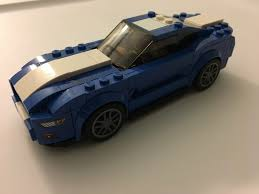 lego ford mustang ford gives mustang face lift and performance boost