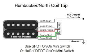 humbucker north coil tap