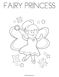 fairy princess magic wand coloring fairy angels peri
