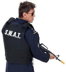 Swat Team Halloween Costume Swat Costume Ebay