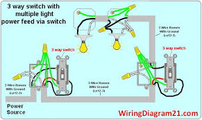 3 way switch wiring diagram multiple light double 3 way light