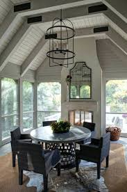 screened porch outdoor fireplace images designs 1218 interior