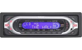 sony cdx mp40 cd mp3 receiver with cd changer controls at