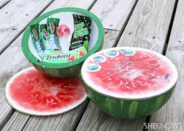 fruit by mail make a watermelon package box to mail