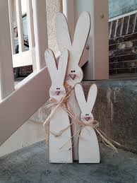 easter home decorating ideas sawdust sanitytallest one is 14 inches they are made from fence
