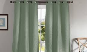 Dusty Curtains Duck River 3 Layer Blackout Curtains Dusty Seafoam Check Back