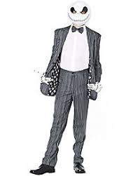 skellington costume nightmare before christmas costumes accessories skellington