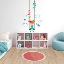 autocollant chambre fille sticker mural enfant avec sticker mural enfant sur idees de design