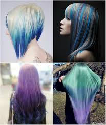 blue and violet ombre hair color you can try out in 2013 vpfashion