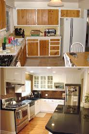 Before And After White Kitchen Cabinets 20 Best Before U0026 After Images On Pinterest Granite Cloud And