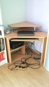 bureau ordinateur angle meuble d angle pour ordinateur idées décoration intérieure