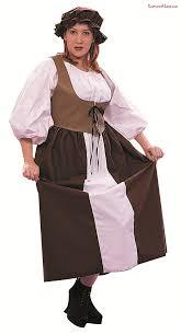 renaissance peasant plus size female costume