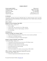 great resume exles for college students college student resume college student resume exles resume
